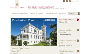 Government House Queensland website