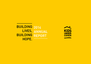 2014 Kids Under Cover Annual Report