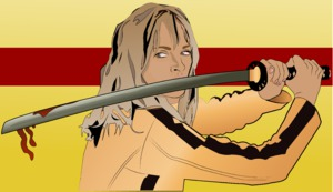 Kill Bill Illustration