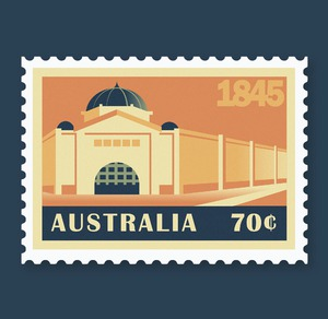 Melbourne Stamp Set