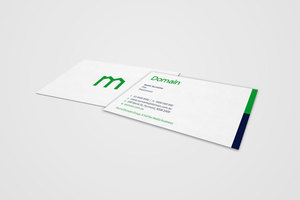 Domain Group Business Cards - Logo re-resh roll out