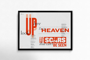 David Bowie Typographic Posters