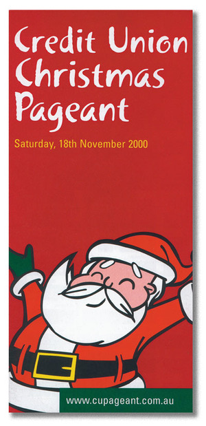 Christmas Pageant - Poster design