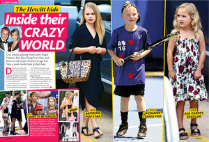 CELEBRITY FEATURE PAGES FOR WOMAN'S DAY