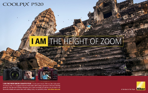 "Nikon Coolpix P520 ""I Am The Height of Zoom"""