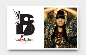 Bat for Lashes - Photo direction & Typography