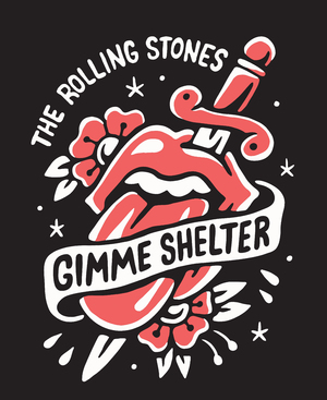 THE ROLLING STONES - Shirt design