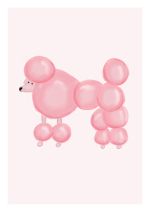 Bubble Gum the Pink Poodle