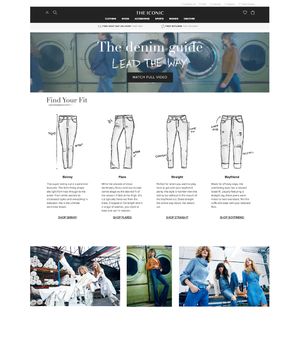 THE ICONIC DENIM GUIDE