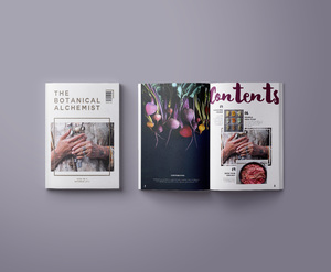 Botanical Alchemist: Publication/Print Design