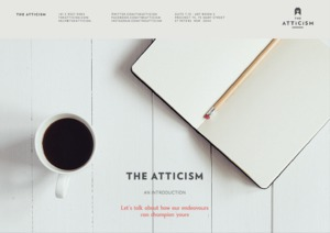 The Atticism - Service Outline