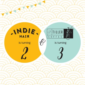 The Tiller Coffee & Indie Hair Invites