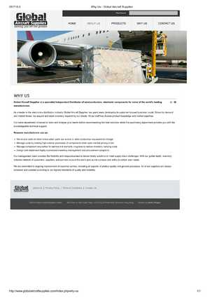 Website Copy - Global Aircraft Supplies