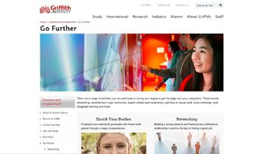 Griffith University Career Website