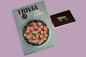 Trivia on the Lawn - Event Poster