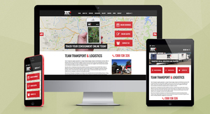 Team Transport & Logistics Website