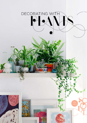 DECORATING WITH PLANTS - e-BOOK / magazine