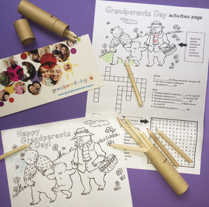 Grandparents Day Illustrations