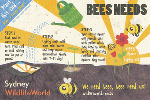 Bees Needs Exhibition Campaign