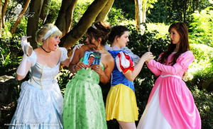 2017 Disney Princesses Theme Photoshoot
