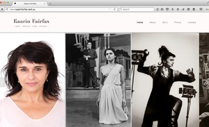 Website Creation for Kaarin Fairfax (actor & director)