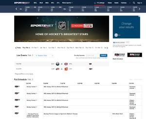 Sportsnet.ca Product Management