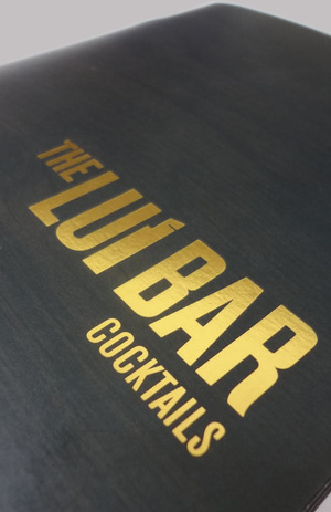 Lui Bar Cocktail Menu