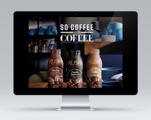 Parmalat Rush Iced Coffee Responsive Landing Page