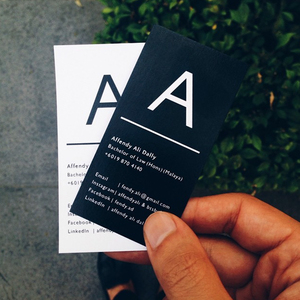 Affendy Ali Business Cards