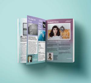 Inertia Winter Zine - Design