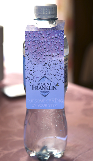 Mount Franklin Promotional Tag
