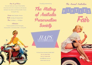 HAPS Fifties Fair