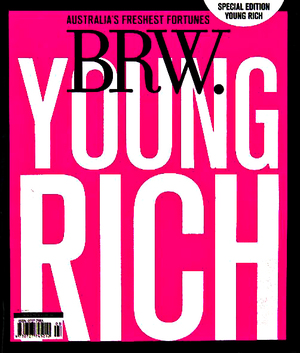 BRW Front Cover Magazine