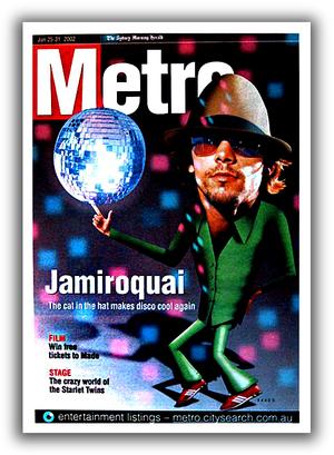 Front Cover Magazine Metro