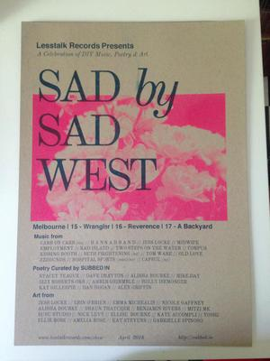 SAD by SAD WEST - Footscray