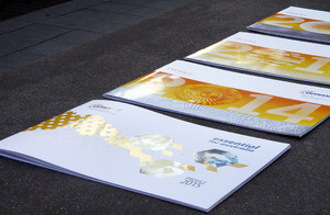 Annual reports for a national science organisation
