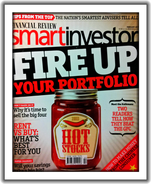 Smart Investor Front Cover Magazine Design & Layout