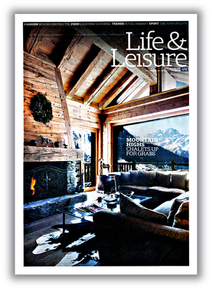 AFR Life & Leisure Magazine Cover