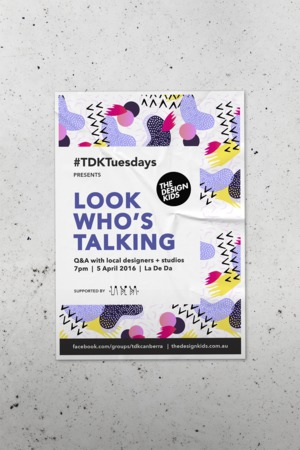The Design Kids - event posters
