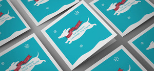 Wills Brand Design Christmas Cards