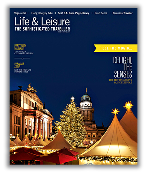 Life & Leisure Front Cover Design
