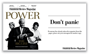 AFR The Australian Financial Review Magazine Design
