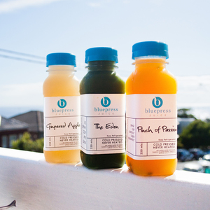 Bluepress Juice Branding