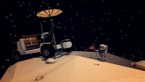 Space Low Poly
