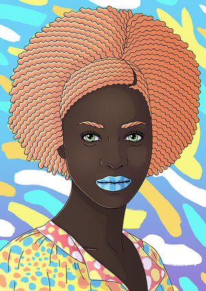 Apricot Afro