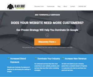 SEO Townsville Services | Black Shirt Marketing