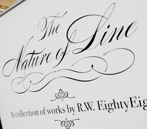 The Nature of Line - A collection of works by RW EightyEight