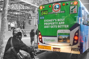 Domain National Outdoor Advertising Campaign