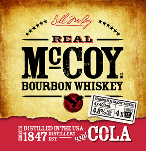 REAL McCOY PACKAGING/RE-BRAND
