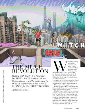 Mitch Revs article for Collective Hub magazine